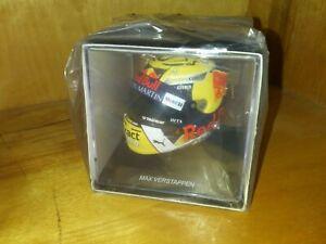 Aston-Martin-Red-Bull-Racing-Mini-Helmet-New-Sealed-w-Plastic-Max-Verstappen-33