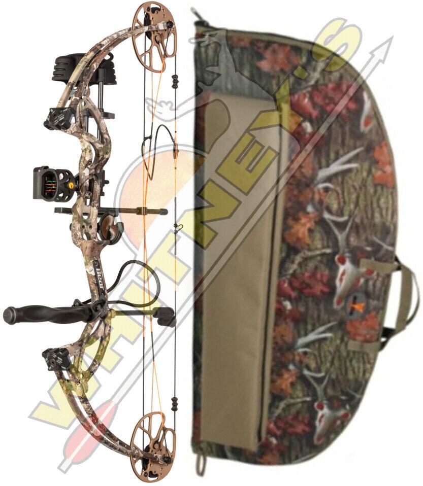 Frojo Bear Cruzer G2 arco velo Stoke Camo RH paquete 5-70  12-30  Con Estuche