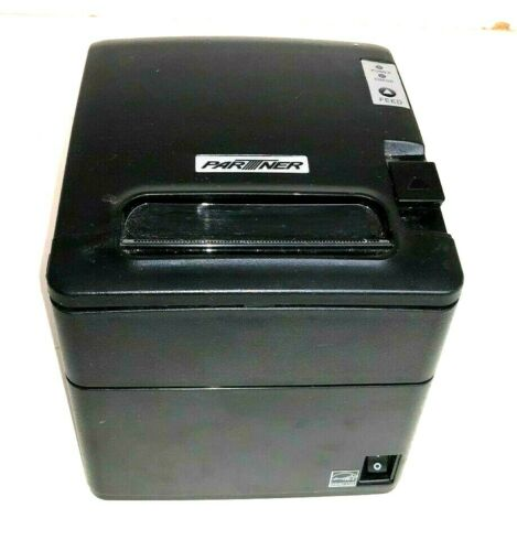 Power Supply Black Partner RP-600 Thermal Receipt Printer USB Serial