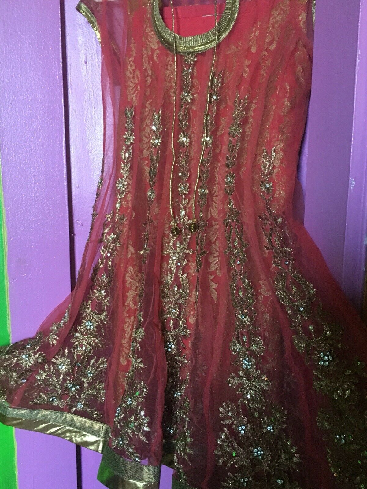 Indian Party wear anarkoli suit - image 5