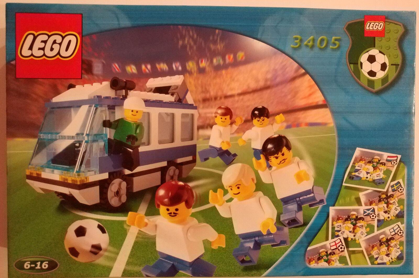 LEGO Sports Set 3405 Soccer Team Transport Bus Football New In Box Sealed NIB