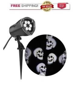 HALLOWEEN LED PROJECTION White Chasing Ghosts Spotlight Projector Decoration