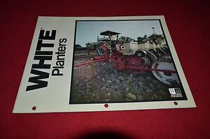 White Tractor 343 543 5400 3400 Planter Dealer S Brochure Dcpa Ebay
