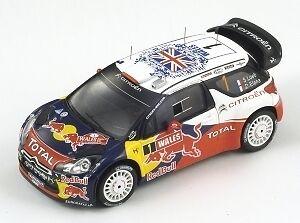 alta calidad general SPARK 1 43 CITROEN DS3 WRC - World World World Champion 2011  Ven a elegir tu propio estilo deportivo.