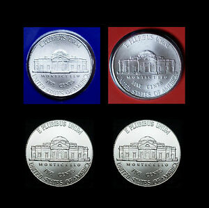 2016 P+D Jefferson Nickel Mint Set ~ PD/'s in Original Mint Wrappers ~ No S Proof