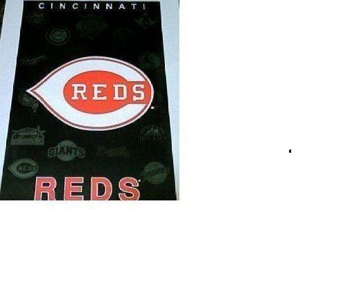 """NOS ESTATE FIND MINT 1994 NO PIN HOLES CINCINNATI REDS """"BIG RED MACHINE """" POSTER"""