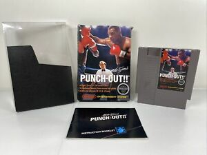 Mike-Tyson-039-s-Punch-Out-Nintendo-Entertainment-System-1987-Complete-In-Box