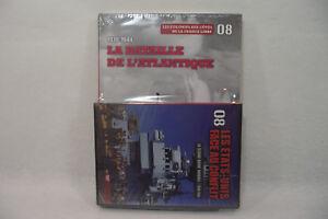 SECONDE GUERRE MONDIALE N°8 Bataille Atlantique NEUF Livre + DVD 1939-45 Figaro