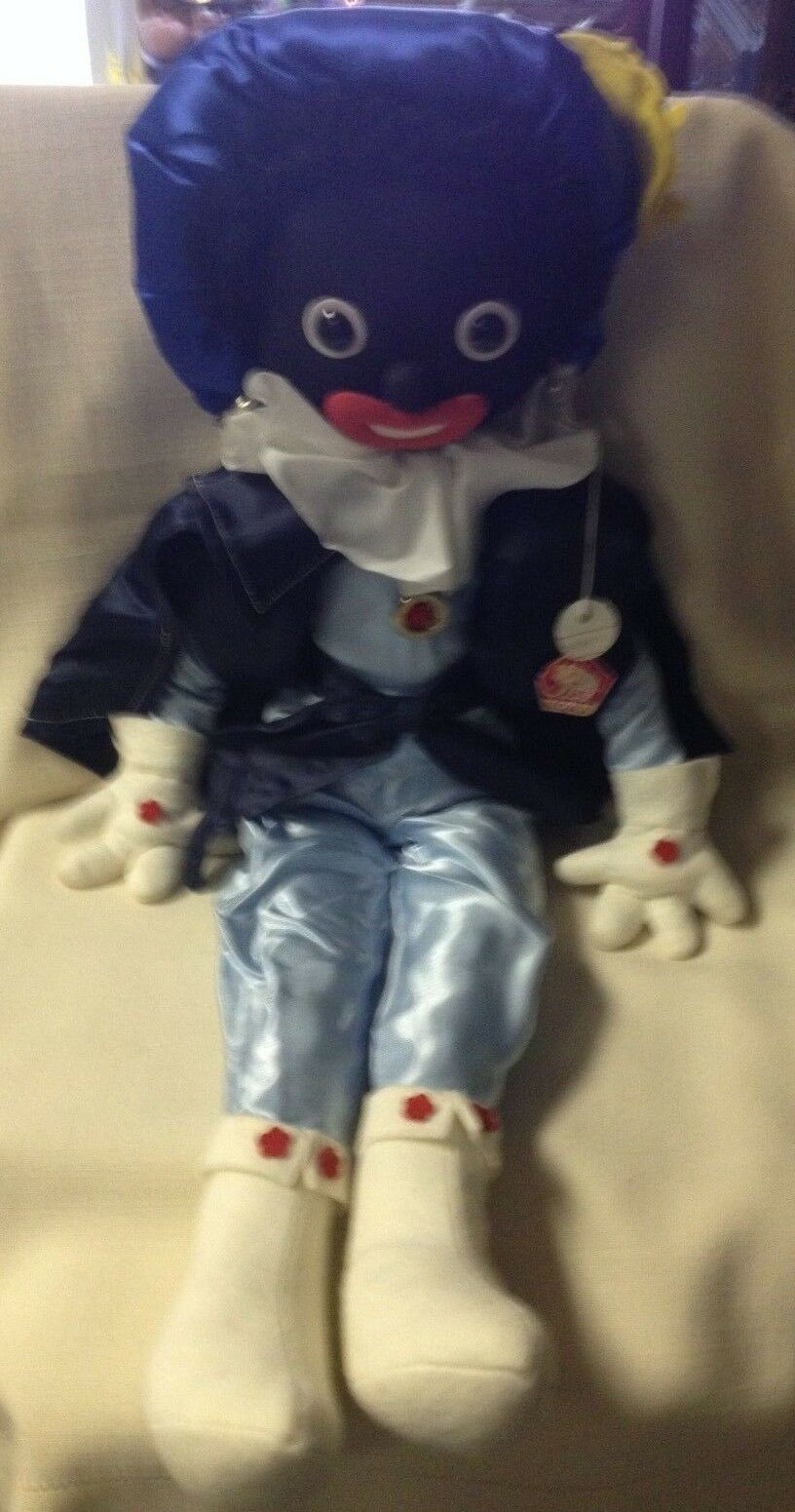 Hand Made in  Czechoslavakia Mona Doll numbeROT piece 6430/11