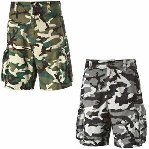 Puma Camo Pantalones Cortos Camuflados Para Hombre Tejido Varsity 568435 Dd11 Ebay