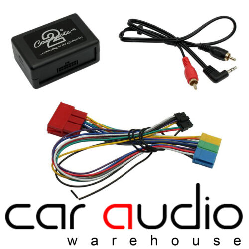 Connects2 Audi A4 1997-2005 Car Aux In iPhone iPod Interface Adaptor