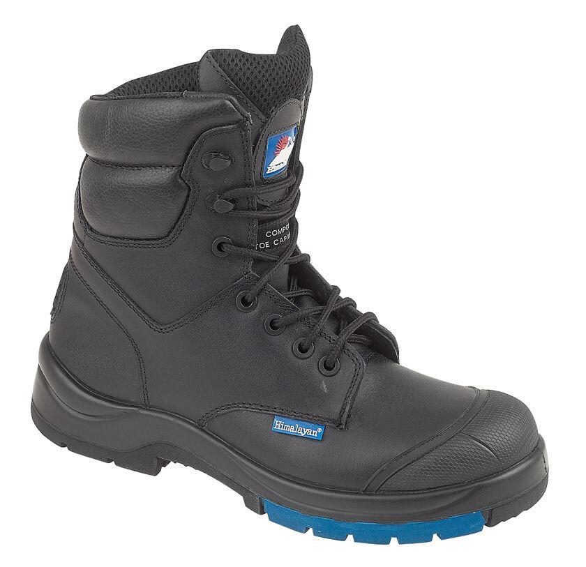 Himalayan 5162 S3 src noir hygrip composite toe métal libre combat bottes de sécurité