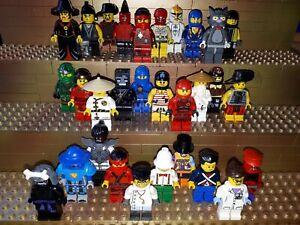 30-LEGO-CITY-personnages-avec-de-chapeau-Minifig-Town-police-ouvriers-c1