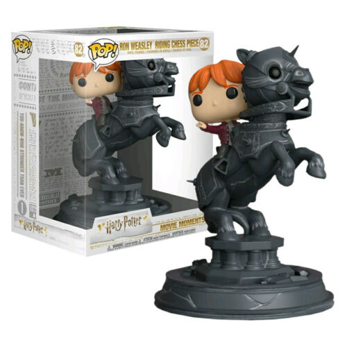 35518 Harry Potter Ron Riding Chesspiece #82 FREE SHIPPING Funko Movie Moment