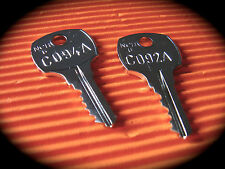 ROWE Jukebox C092A & C094A Cabinet Master Key Set-Suits CD 100 Models