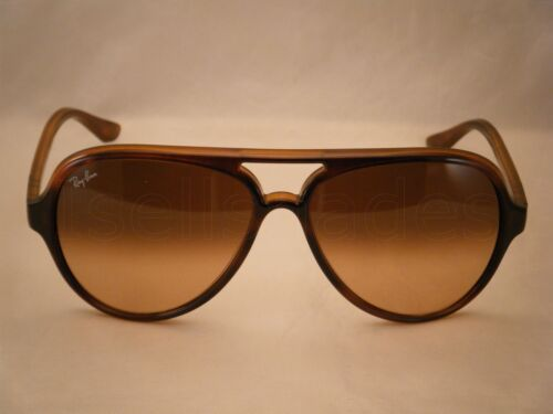 1d4cc2f7e4 ... Ray Ban 4125 CATS 5000 Striped Havana w Pink Brown Gradient Lens (RB4125  710
