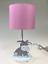 LED Tischleuchte Stoff Pink Weiß Kinderleuchte Lampe Leuchte Diego Eglo
