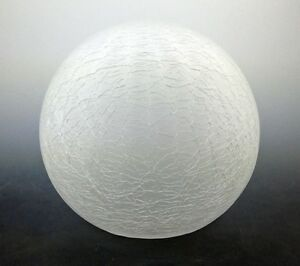 100mm Art Deco Style Crackle Globe Lamp Shade for Lady Lamp and  Deco Lamps