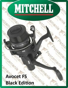Mulinello-Mitchell-AVOCET-FS-R-Black-Edition-free-spool-carp-fishing-nylon