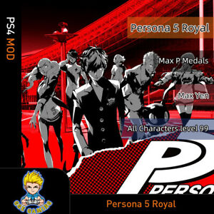 Persona-5-Royal-PS4-Mod-Max-P-Medals-Yen-All-Characters-Level-99