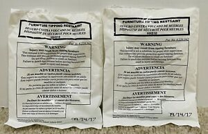 Furniture Anti-Tipping Tip over Tip Restraint # 6.220.562 Child Safety 5 Packs