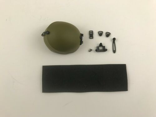 Navy Seals Free Ride Helmet AFA Green Color ACE 1//6th Scale Accessory