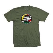 Albino & Preto batch 15 AP Logo t shirt Olive medium shoyoroll AP jiu jitsu bjj