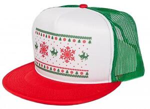 95e01723df0e4 Image is loading Humping-Reindeer-ugly-Christmas-Holiday-Hat-Cap-Vintage-