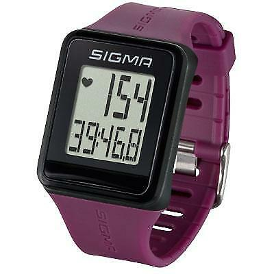 Sigma Sport iD Plum Go Heart Rate Monitor Bike Watch Plum iD b55c25