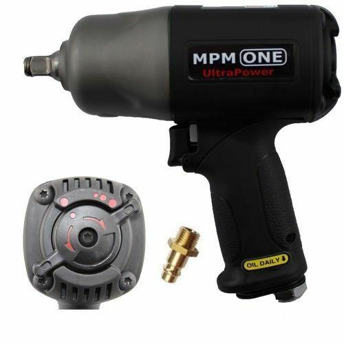 """2005 Nm Twinhammer 1//2/"""" Premium Druckluft-Schlagschrauber MPM One UltraPower"""