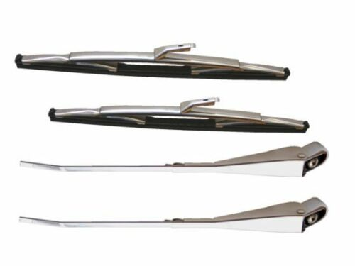 Vauxhall Victor 101 & VX490 19641967 A Pair Of Wiper Blades And Arms