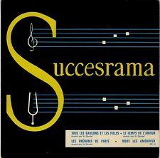 EP 45 tours Succèsrama n° 13 Françoise Hardy Jacques Brel EXC