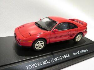 sw20 1989 Ebbro 1:43 Toyota Mr2