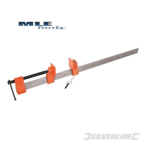 #633632 Silverline Expert Sash Cramp 600mm clamp woodwork welding Qty 1 2 4