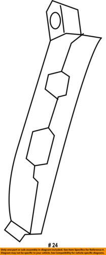 KIA OEM 17-18 Niro Front Bumper-Front Duct Left 86567G5000