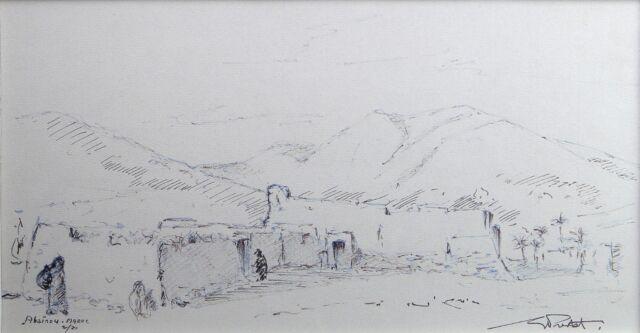Georges Prestat (1911-1994) Abainou Morocco Varzy Nièvre Rex-Baker Clamecy Yonne