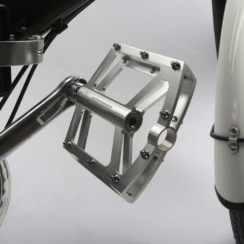 "Mountain Bike Bicycle BMX MTB Platform Pedals Aluminum Sealed Bearing 9//16/"""