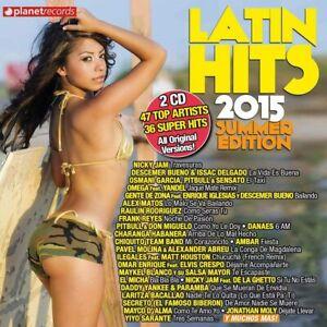 Latin Hits 2015 Summer Edition - CD