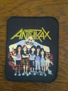 ANTHRAX-PATCH-Original-80er-Vintage-Aufnaeher-8x10cm-Thrash-Metal