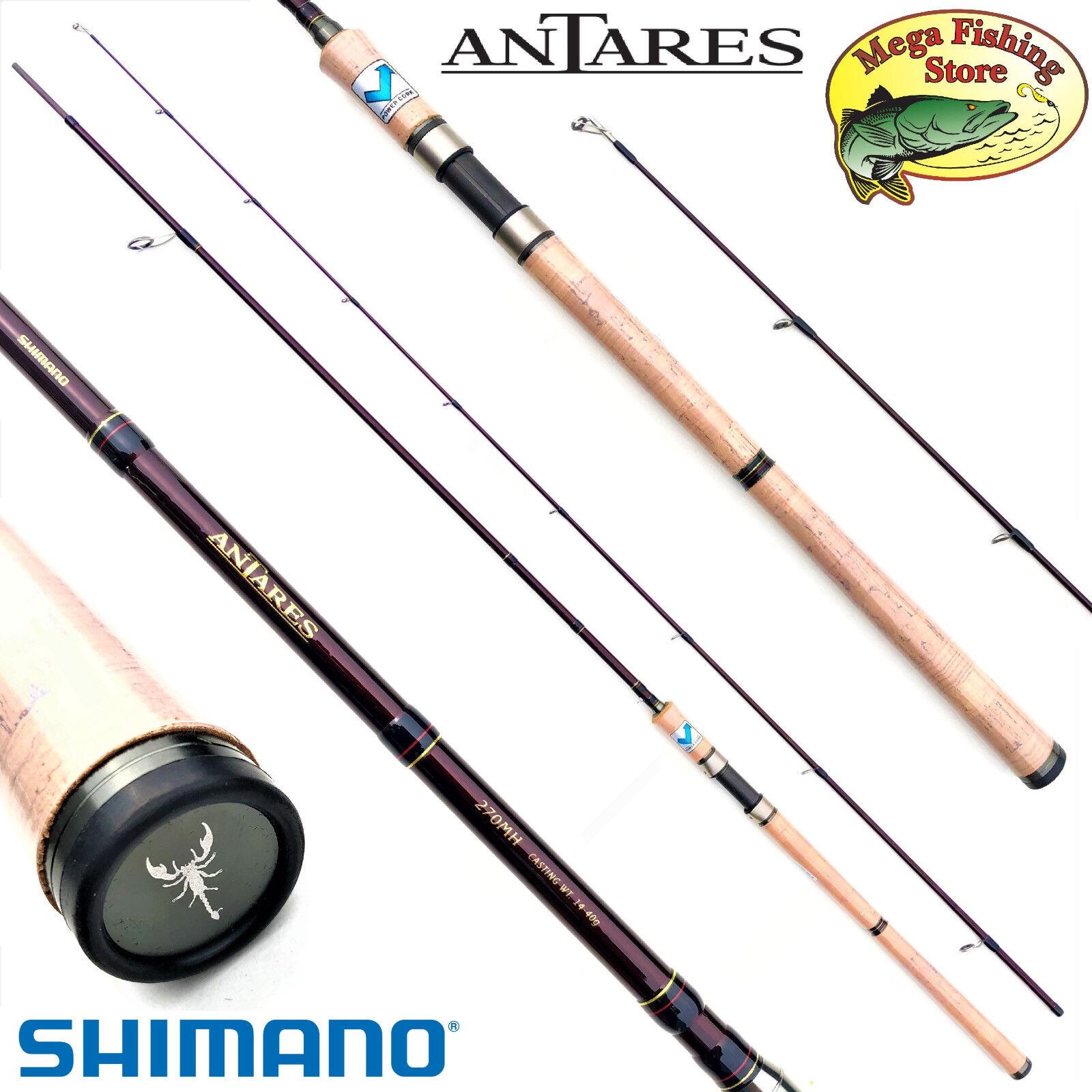 Shimano Antares DX spinning spin vara 2,70m 3,00m 10-30g 14-40g 20-50g Cocherete fijo