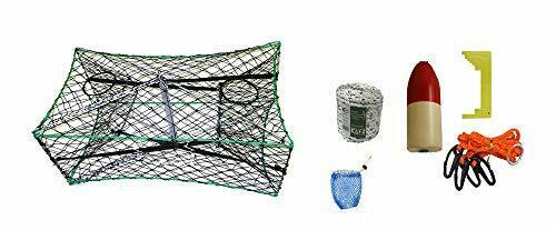 KUFA S33+CAM1 Galvanized Foldable Crab Trap & Accessory Kit (S33+CAM1)