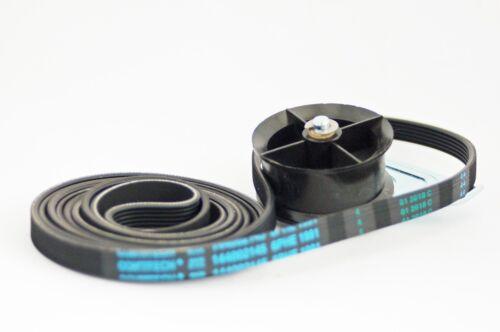 Pour Hotpoint Aquarius TCM580 Condenseur Sèche-linge Jockey Poulie//Roue /& Ceinture