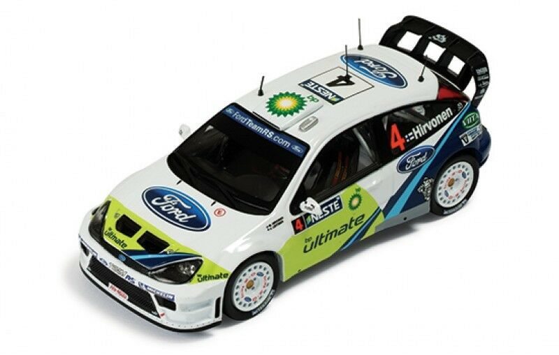 1 43 Ford Ford Ford Focus WRC BP Ultimate  Rally 1000 Lakes Finland 2005  M.Hirvonen ec59ef