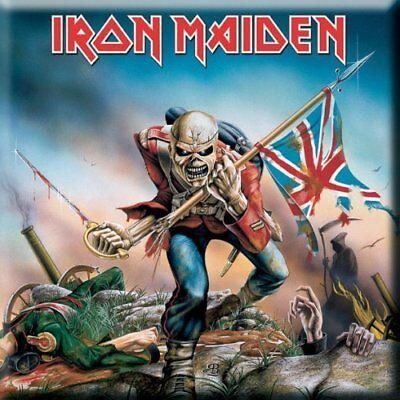 2019 Moda Iron Maiden Fridge Magnet Calamita Trooper Official Merchandise Domanda Che Supera L'Offerta