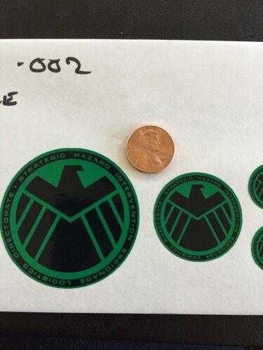 Marvel Agents of Shield Custom decals 1//6 Scale 002 GREEN livraison gratuite