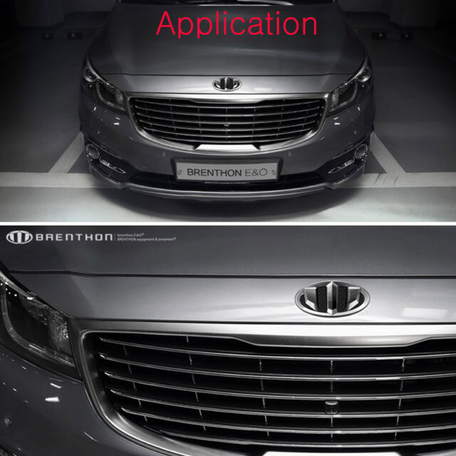 Brenthon Type 2 Wheel Cap Emblem Fit: KIA 2017+ Niro