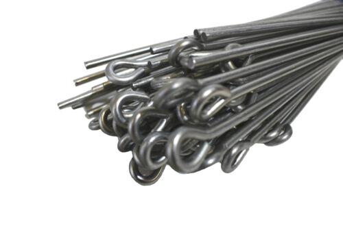 25-100 Stück Ösendraht 375 mm Abhängedraht Draht mit Öse Trockenbau