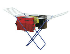 Charles Bentley Folding Winged Indoor Clothes Airer Laundry Dryer Horse Rack