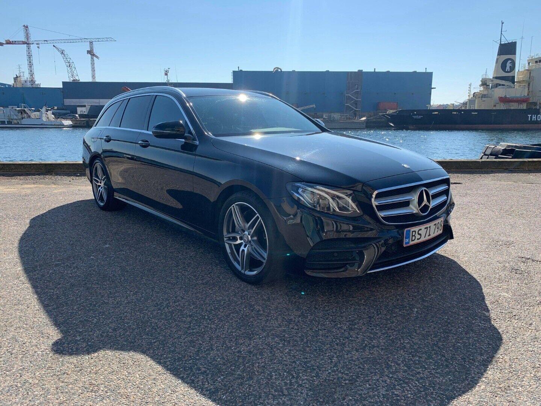 Mercedes E220 d 2,0 AMG Line stc. aut. 5d - 489.900 kr.