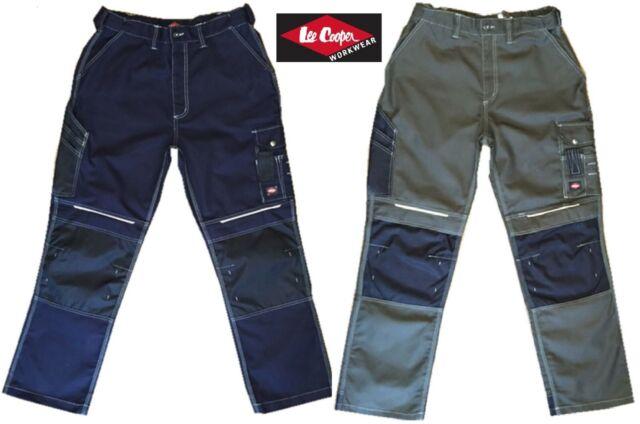 Black 38 Lee Cooper LCPNT210 Pantalones